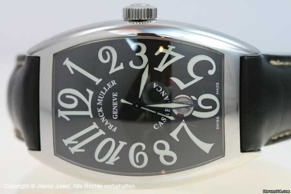 Franck Muller CASABLANCA DATE AUTOMATIK EDELSTAHL