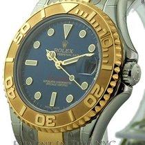 Rolex Yacht-Master Steel & Gold Blue Dial 35mm Ref. 168623