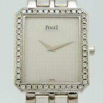 Piaget Protocole White Gold Bezel Diamonds