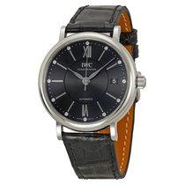 IWC Portofino Grey Diamond Dial Automatic Unisex Watch