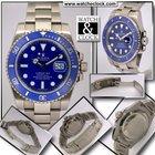 Rolex 116619LB Submariner  Oro Bianco Ceramica