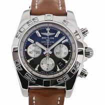 Breitling Chronomat 44 Chronograph Black Dial