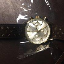 Heuer Carrera 18K Gold Chronograph (2 Zifferblätter)