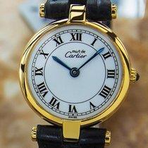 Cartier Must De Cartier Luxury Swiss Made 925 Silver Ladies...