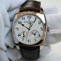 Vacheron Constantin Harmony dual time 18K White Gold Watch