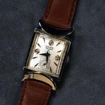 Gruen Vintage Precision 14K (0.585) White Gold
