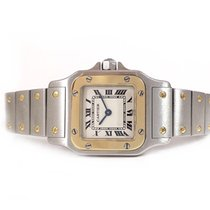 Cartier Ladies 24mm SANTOS Galbee S/G 1567