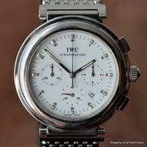 IWC DA VINCI SL 3728 WHITE CHRONOGRAPH Cal 631 MECAQUARTZ...