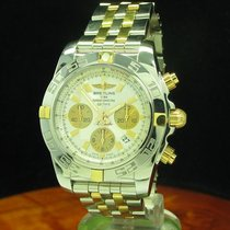 Breitling Chronomat 44 18kt 750 Gold Edelstahl Automatic...