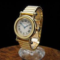Cartier Diabolo 18kt 750 Gold Gelbgold Damenuhr / Ref 1440 0 /...