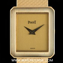 Piaget 18k Yellow Gold Champagne Dial Ladies Vintage Watch...