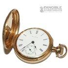 Elgin Keystone 14 Karat Gold Miniature Pocket Watch