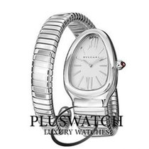 Bulgari SERPENTI TUBOGAS 35MM QUARZO 101828 / SP35C6SS.1T ...