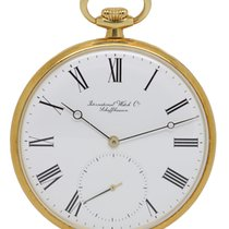 IWC POCKET WATCH 18CT YELLOW GOLD IW520101
