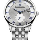 Maurice Lacroix Masterpiece Small Seconde, Date, Blue Hands,...