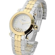 Chopard 278488-9001 Happy Sport Quartz in 2-Tone - Steel and...