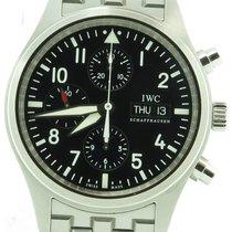 IWC Iw3717 Der Flieger Pilot Chronograph Day & Date On...