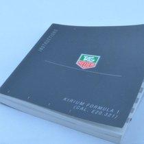 TAG Heuer Manual Anleitung Kirium Formula 1 E20.321