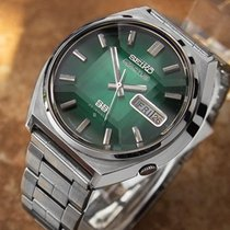 Seiko 5 Actus 1970 Vintage 23j Automatic Stainless Steel Watch...