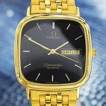 Omega Seamaster  Gold Plated Quartz Watch 80's Scx116