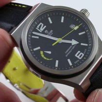 Tudor NORTH FLAG Stainless Steel Black Yellow Automatic 91210 N