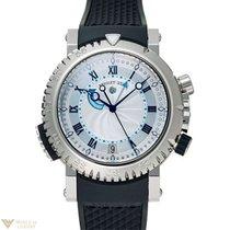 Breguet Marine Alarm 18K White Gold Men`s Watch