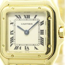 カルティエ (Cartier) Polished Cartier Panthere 18k Gold Quartz...