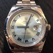 Rolex President Day Date 2 II Ice Blue Dial Platinum 218206