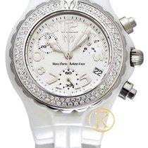 Technomarine Moonsun Ceramic Mini Diamond White Women's...
