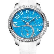 Ulysse Nardin Jade Stainless Steel & Diamonds Ladies Watch