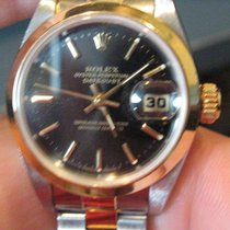 Rolex Ladies 18k/ss Oyster Perpetual Womens Datejust 69163...