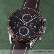 TAG Heuer Carrera Chronograph Automatik Herrenuhr Stahl Cv2013