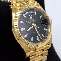 Rolex President Day-date 228238 18k Yellow Gold Diamond Dial ...