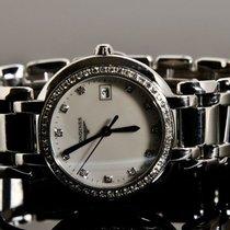 Longines – Prima Luna, loupe clean diamonds – Women's...