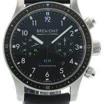 Bremont Boeing 247 Stainless Steel Black