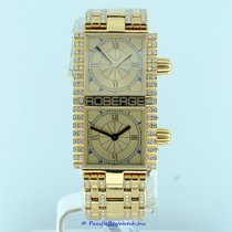 Roberge Pollux Ladies Dual Time 18k Yellow Gold Pre-Owned