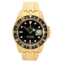 Rolex GMT Master 16758 - 18ct Yellow Gold - 1984