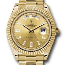 Rolex Unworn 228238CHBDP Day Date 40m Mens Automatic -Yellow...