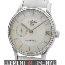 Zenith Elite Ultra Slim Steel Diamond Bezel 33mm Ref. 16.1025....