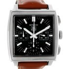 TAG Heuer Monaco Automatic Brown Strap Mens Watch Cw2111
