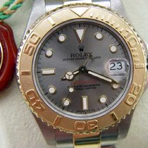 Rolex Midsize Yachtmaster Used Watch With Gray Face