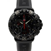 TAG Heuer Formula 1 Grande Date Men's Quartz Black Rubber...