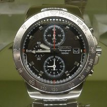 Seiko chronograph 100 m steel 7T62-OCBO