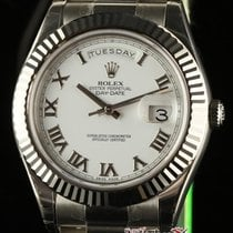 Rolex New Day-date Ii 218239 President Gold 2016+ Box/papers/w...