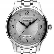 Montblanc Bohème Date Stahl Diamond Automatik Armband Stahl...
