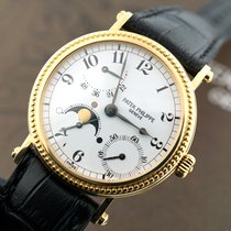 Patek Philippe Automatic Power Reserve Moon 18k Yellow Gold