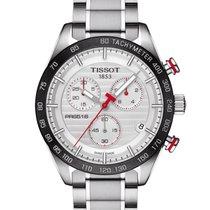 Tissot PRS 516 Quartz Chronograph Silver Dial 42mm G