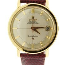 Omega Constellation Pie Pan Automatic 14K Yellow Gold