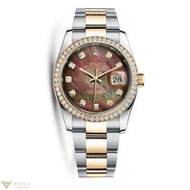 Rolex Oyster Perpetual Datejust 18K Yellow Gold & Stainles...