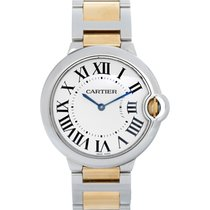 Cartier Ballon Bleu Midsize Stainless Steel & 18k Yellow...